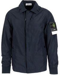 Stone Island - Tech Fabric Drawcord Jacket - Lyst