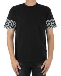 KENZO T-shirt in cotone - Nero