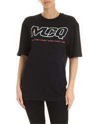McQ T-Shirt Mcq Highest Order Nera - Nero