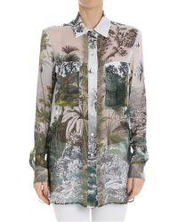Alberta Ferretti - Jungle Print Shirt - Lyst
