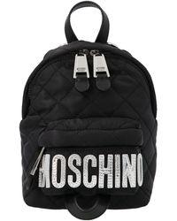Moschino Baby Logo Backpack - Black