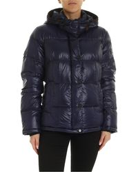 Peuterey Bryce Blue Down Jacket With Hood