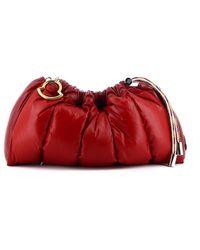 Moncler Borsa Trapuntata Seashell Rossa - Rosso