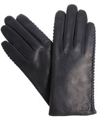 Polo Ralph Lauren Black Leather Gloves