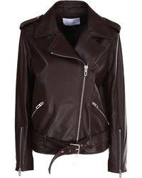 DROMe Leather Biker - Brown