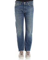 Edwin - Blue 5 Pockets Jeans - Lyst