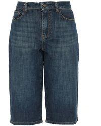 Zadig & Voltaire Petrol Denim Trousers - Blue