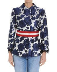 Bazar Deluxe - Jacquard Fabric Jacket - Lyst