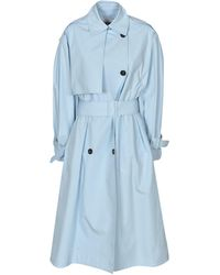 MSGM - Double-breasted Trench Coat - Lyst