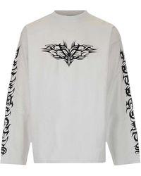 Vetements Long-sleeved T-shirt - White