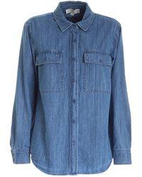 Michael Kors Denim Shirt - Blue
