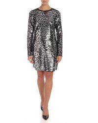 Michael Kors Animal Print Dress - Multicolour