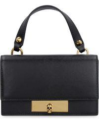 Alexander McQueen Leather Mini-bag - Black