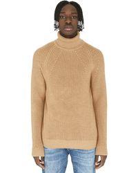 BOSS by Hugo Boss - Gilo Turtleneck Virgin-wool Pullover - Lyst