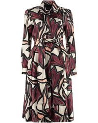 Ferragamo Printed Shirtdress - Multicolor