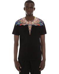 Marcelo Burlon T-Shirt in Cotone Nero