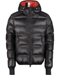 3 MONCLER GRENOBLE Hintertux Full Zip Padded Jacket - Red
