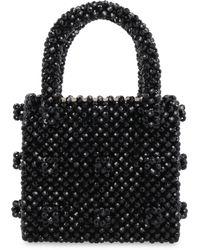 Shrimps Mini Antonia Tote Bag - Black