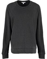 James Perse Cotton Sweatshirt - Grey