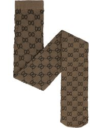 Gucci Collant con motivo GG - Marrone