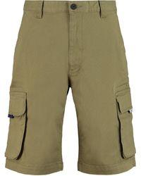 Tommy Hilfiger Cotton Bermuda Shorts - Green