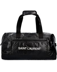 Saint Laurent Borsa da viaggio Nuxx in nylon - Nero