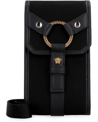 Versace Nylon Smartphone Case - Black