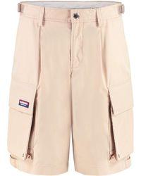 Burberry Cotton Cargo-shorts - Natural