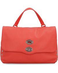 Zanellato Postina M Leather Bag - Red