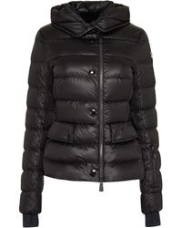 3 MONCLER GRENOBLE Armonique Hooded Short Down Jacket - Black