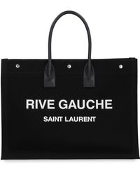 Saint Laurent Tote bag Noe Cabas in canvas - Nero