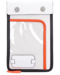 JW Anderson Pulley Logo Patch Pouch - White