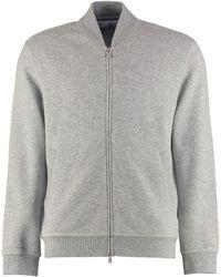 Brunello Cucinelli Cashmere Full-zip Sweatshirt - Grey