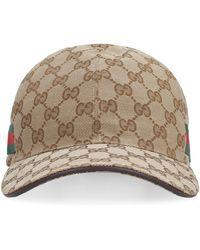 Gucci Berretto da baseball con logo all over - Neutro