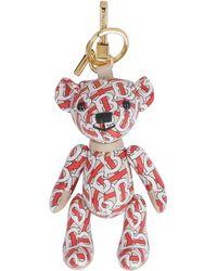 Burberry Thomas Teddy Bear Key-ring - Red