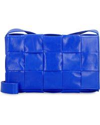 Bottega Veneta Borsa Cassette - Blu