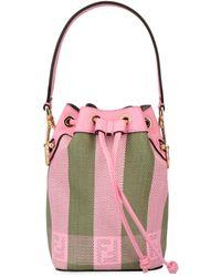 Fendi Mini Mon Tresor Bucket Bag - Pink