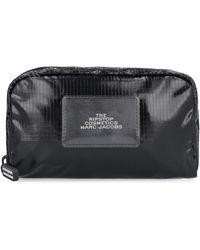Marc Jacobs The Ripstop Nylon Wash Bag - Black