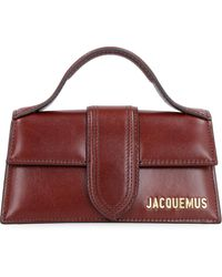 Jacquemus Mini bag Le Bambino in pelle - Marrone