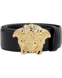 Versace - Cintura con fibbia - Lyst
