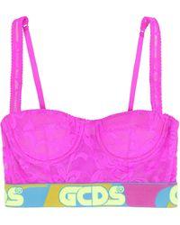 Gcds Lace Balconette Bra - Pink
