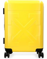 Off-White c/o Virgil Abloh Polycarbonate Hardshell Suitcase - Yellow