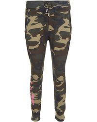 DSquared² - Pantaloni in cotone stampa camouflage - Lyst