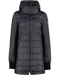 Canada Goose Ellison Hooded Down Jacket - Black