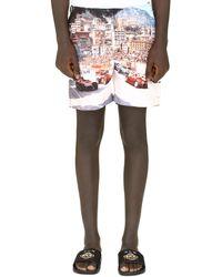 Orlebar Brown Bulldog Printed Swim Shorts - Multicolour
