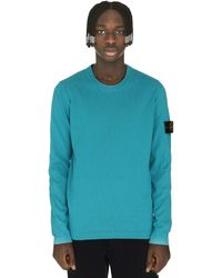 Stone Island Cotton Crew-neck Sweater - Green