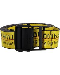 Off-White c/o Virgil Abloh Belt In Yellow