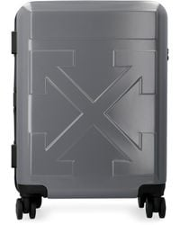 Off-White c/o Virgil Abloh Arrows Small Gray Suitcase