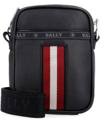 Bally - Leather Messenger Bag - Lyst