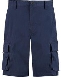 Tommy Hilfiger Cotton Bermuda Shorts - Blue